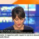 """Une """"marsienne"""" sur i-TELE"""