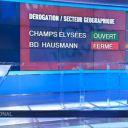 Il manque un S au boulevard Haussman sur France 3