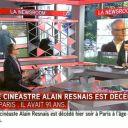 Alain Resnais est cinéastre selon i-TELE