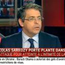 Fan des végétaux, Nicolas Sarkozy porte plante sur i-TELE
