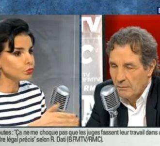 <p>Rachida Dati face à Jean-Jacques Bourdin ce matin sur...