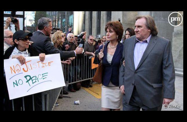 Gérard Depardieu interprète DSK
