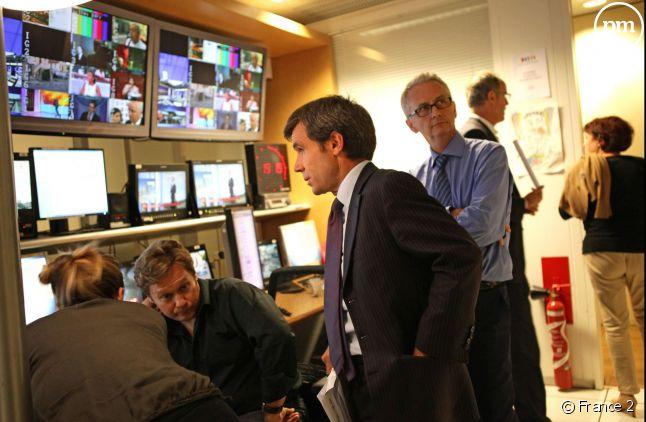 David Pujadas est confirmé à la tête du 20 heures de France 2.