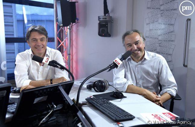 Alain Marshall et Olivier Truchot, sur RMC.