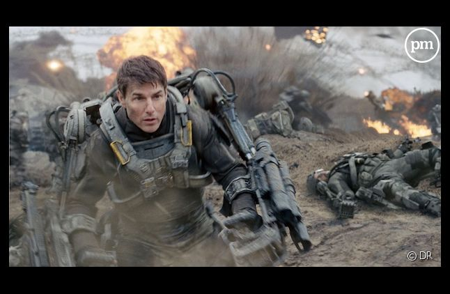 "Tom Cruise dans ""The Edge of Tomorrow"""