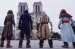 """Assassin's Creed"" : L'incroyable parkour sur les toits de Paris"
