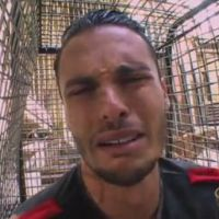 Baptiste Giabiconi en pleurs face aux tigres de