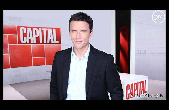 """François-Xavier Ménage, à la tête de """"Capital"""" sur M6."""
