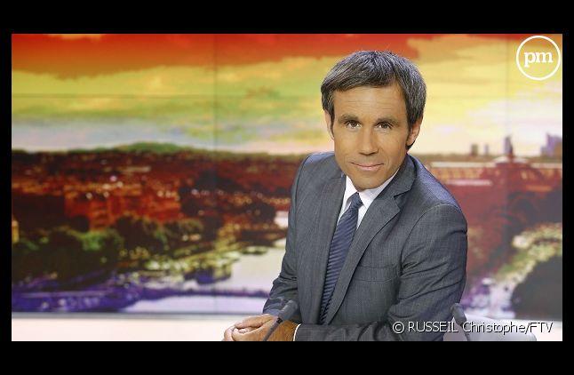 David Pujadas, le présentateur du 20H de France 2