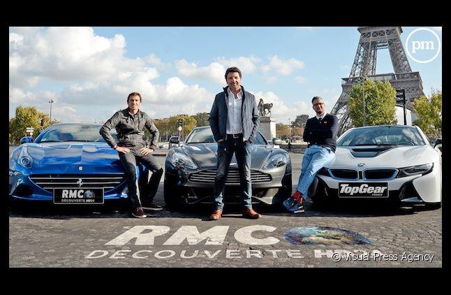 """""""Top Gear"""" version française présente ses animateurs"""