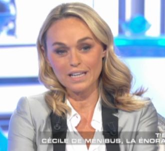 Cécile de Ménibus évoque sa séquence osée avec Rocco...