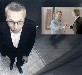 Publicité de RTL 'Le Check' avec Yves Calvi et Laurent...