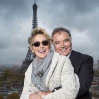 Pub :  Sharon Stone visage d'Alain Afflelou pour les trois prochaines années