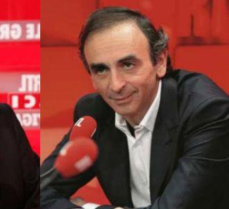 Débat entre Jean-Luc Mélenchon et Eric Zemmour sur RTL.