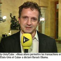 Rapprochement Cuba-USA : un député français ému aux larmes sur iTELE