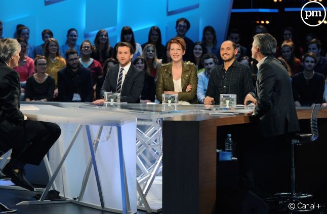 "Le plateau du ""Grand Journal"""