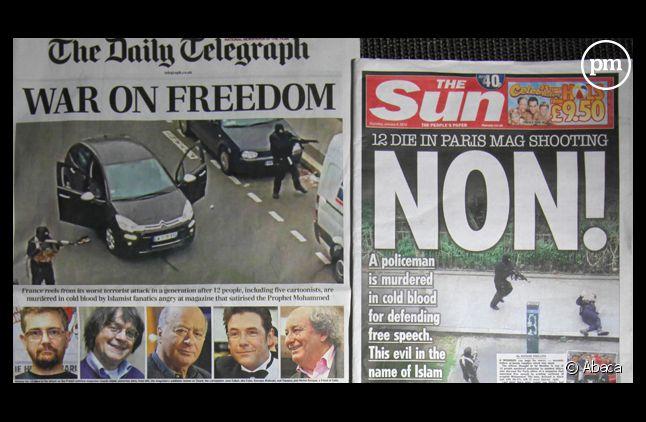 La tuerie à la Une de la presse internationale.