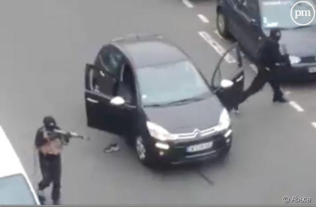 Une photo extraite de la vidéo prise par un témoin.