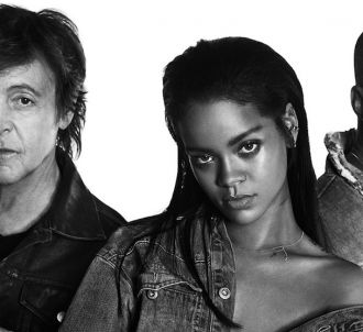 Paul McCartney, Rihanna et Kanye West