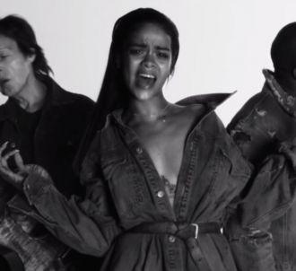 Clip de 'FourFiveSeconds' de Rihanna, Kanye West et Paul...