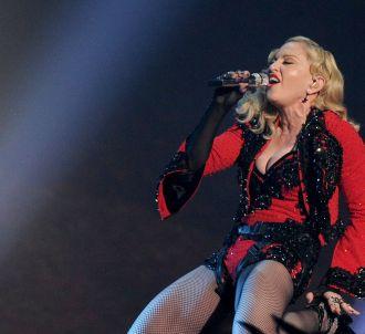 Madonna, le 8 février 2015.