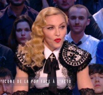 <span>Madonna dit vouloir prendre un verre avec Marine Le...