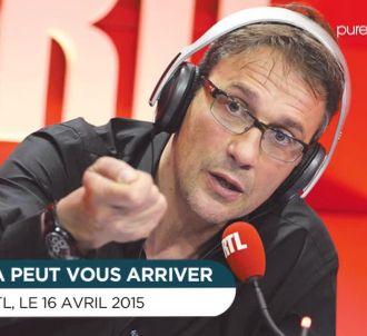 Julien Courbet insulté sur RTL.