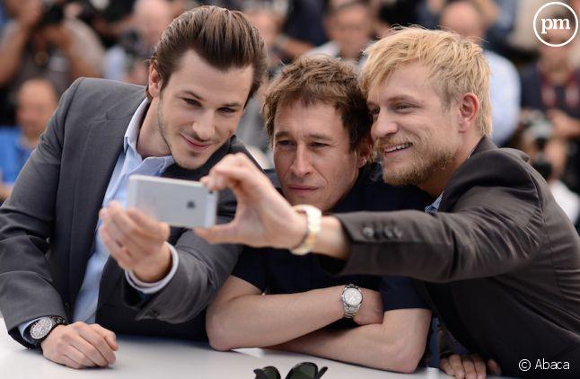 <span>Le selfie cannois de Gaspard Ulliel, Bertrand Bonell et Jérémie Renier</span>