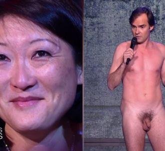 La ministre de la Culture Fleur Pellerin face au comédien...