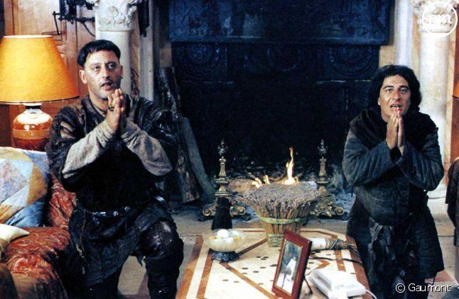 """Jean Reno et Christian Clavier dans """"Les Visiteurs"""""""