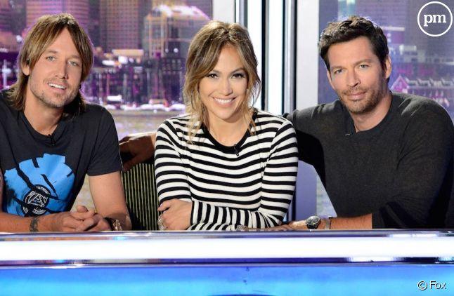 """Le jury d'""""American Idol"""" en 2015"""