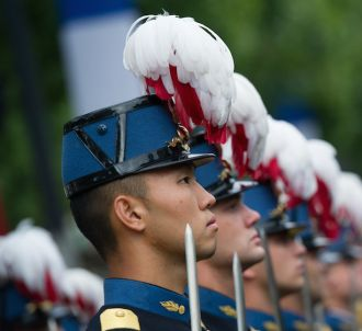 Le défilé militaire du 14 juillet 2015