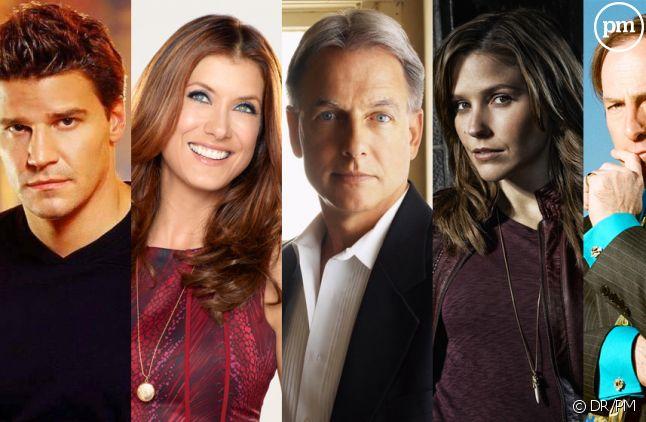 Séries et spin-offs diffusés sur des chaînes différentes