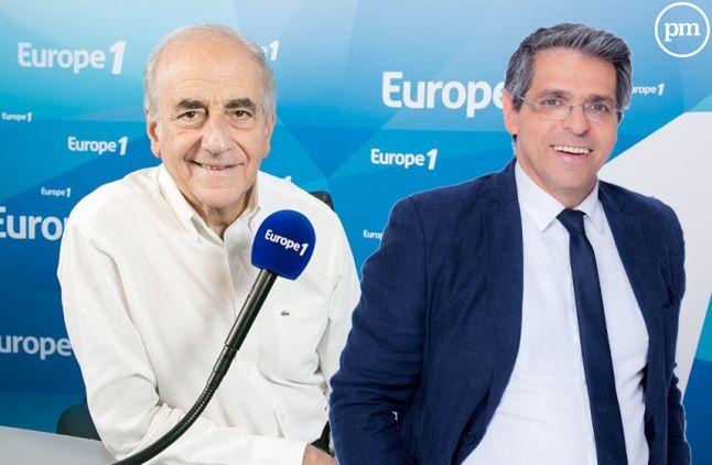 Jean-Pierre Elkabbach et Michael Darmon.