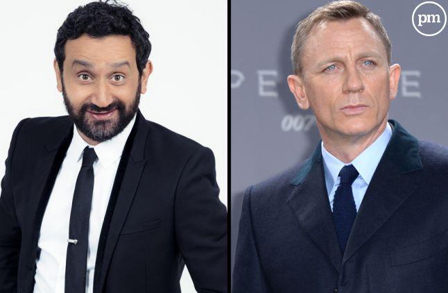 Cyril Hanouna et Daniel Craig.