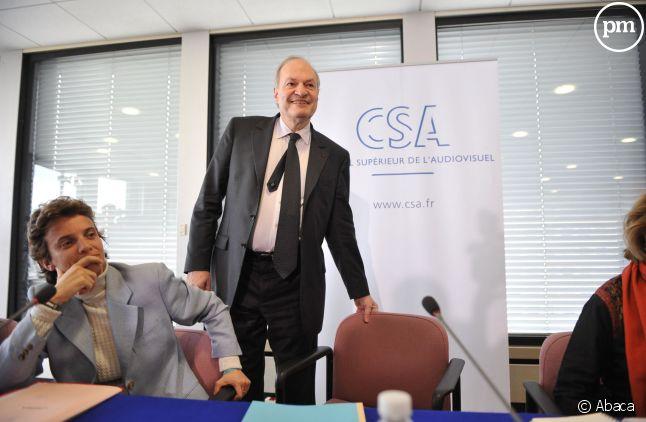 Michel Boyon, ex-président du CSA.