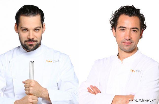 """Xavier Pincemin face à Pierre Augé dans """"Top Chef : Le choc des champions"""" 2016"""