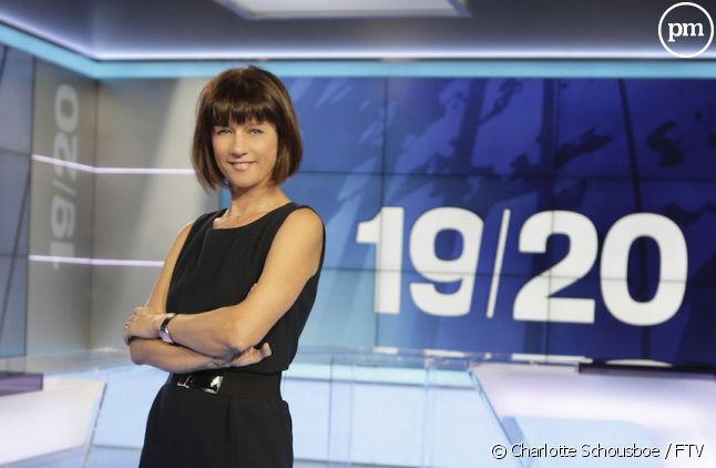 "Carole Gaessler dans le ""19/20"""