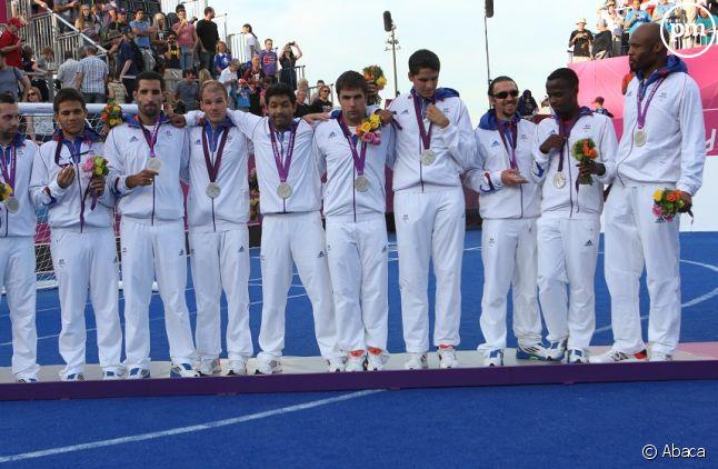Equipe de France de football des jeux paralympiques de 2012 à Londres.