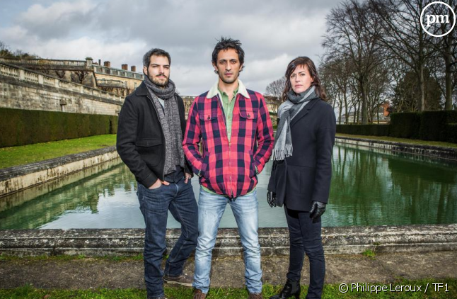 """Clément Manuel, David Kammenos et Anne Caillon dans """"Falco"""""""