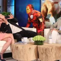 Chris Evans terrifie Elizabeth Olsen chez Ellen DeGeneres,