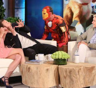 Chris Evans effrayé chez Ellen DeGeneres