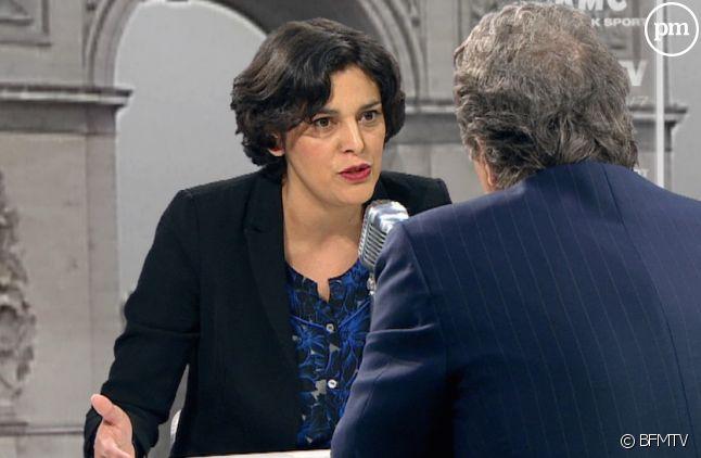 Myriam El Khomri face à Jean-Jacques Bourdin