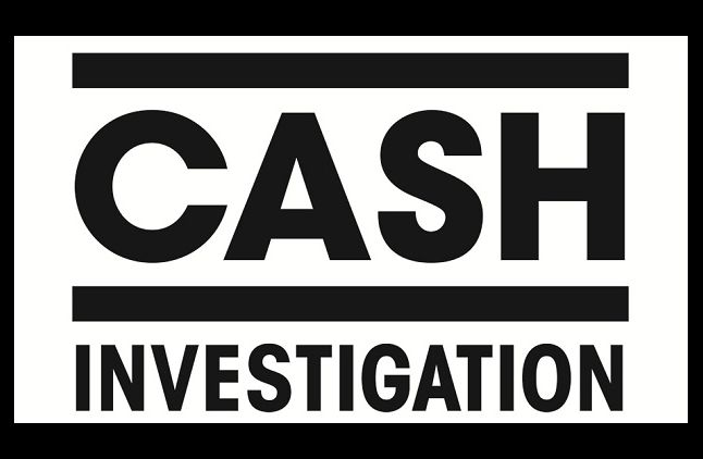 """Cash Investigation"", logo"