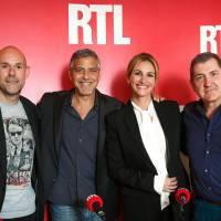 George Clooney et Julia Roberts invités de TF1 et RTL