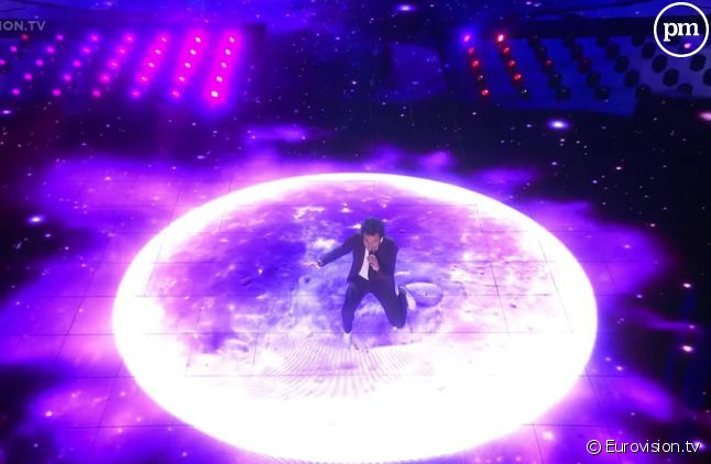 "Amir chante ""J'ai cherché"" pour l'Eurovision 2016"