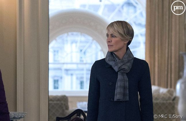 "Kevin Spacey et Robin Wright dans ""House of Cards"""