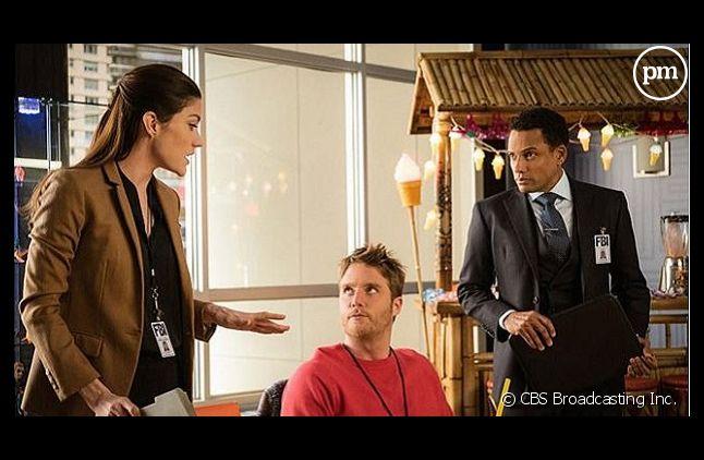 "Hill Harper, Jake McDorman et Jennifer Carpenter dans ""Limitless"""