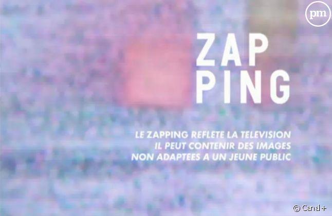 """""""Le Zapping"""" de Canal+."""