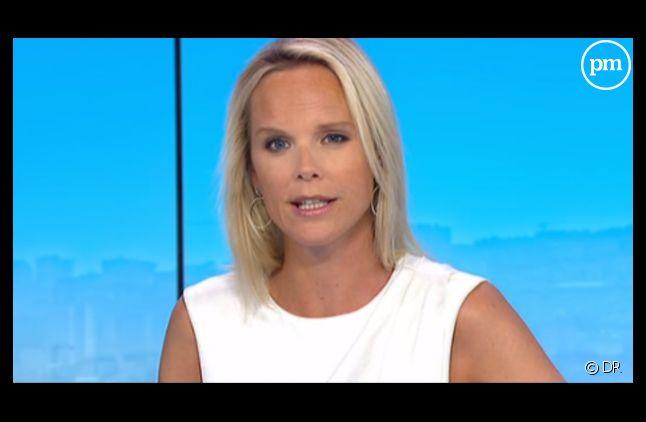 Vanessa Burggraf, nouvelle chroniqueuse de ONPC.